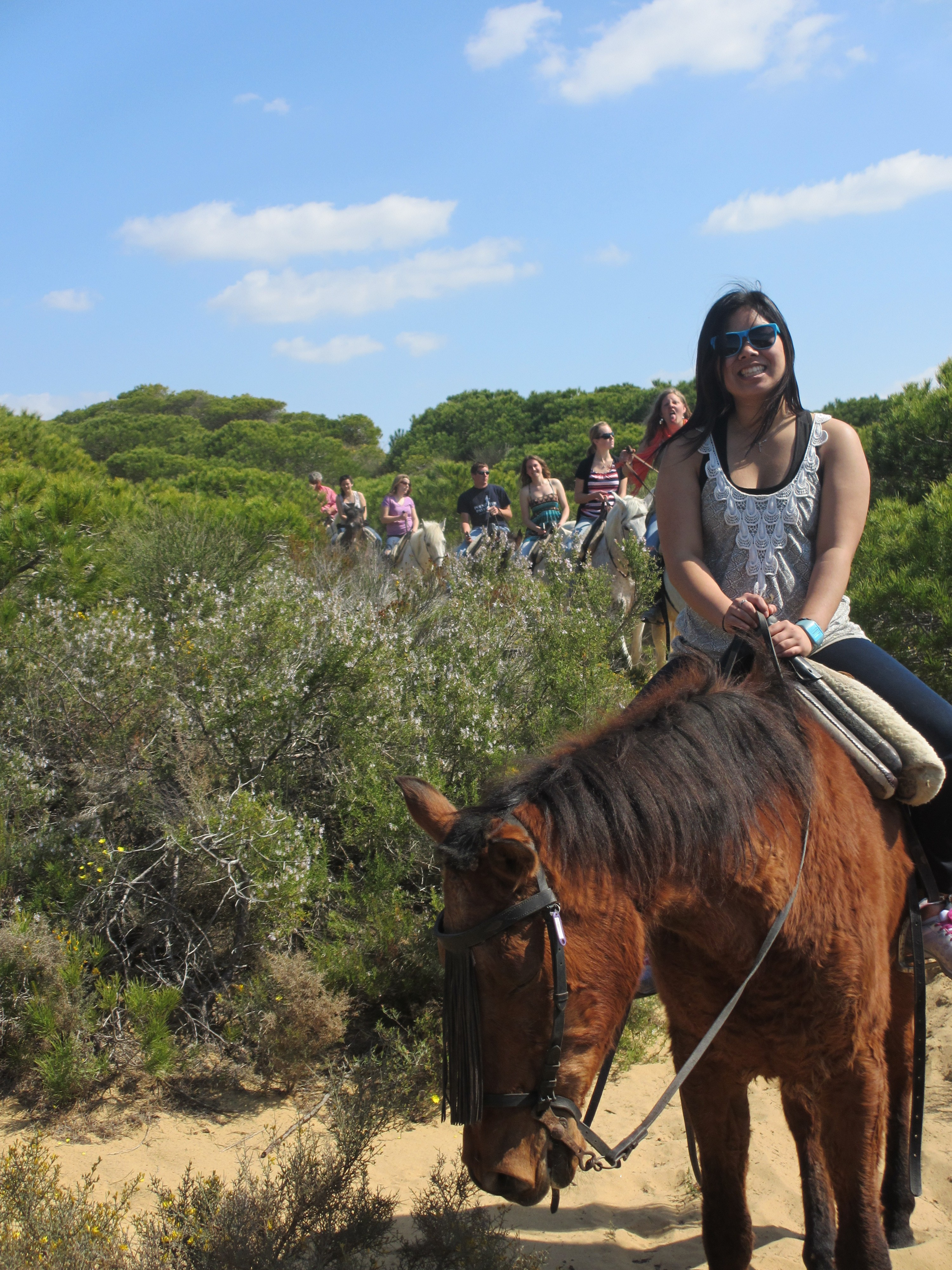 Horseback riding in spain isa study abroad student blog for Places to go horseback riding near me