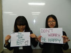 korean students speak 1