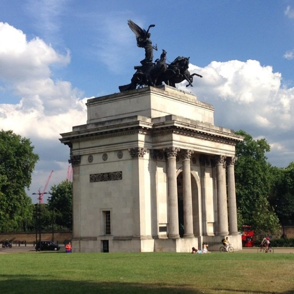The beauty of the Wellington Arch can only be truly appreciated in person.