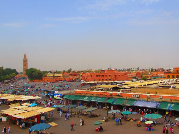 Marrakech Medina, Marrakech, Morocco-White-Photo1