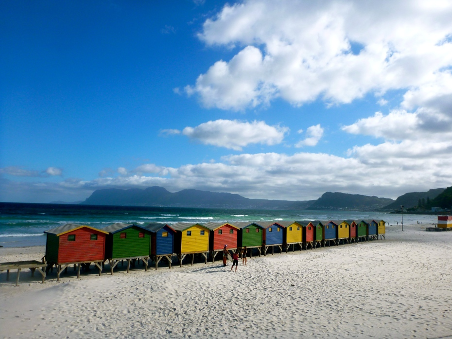 You'll be hard pressed to not have a picturesque day at Muizenberg!