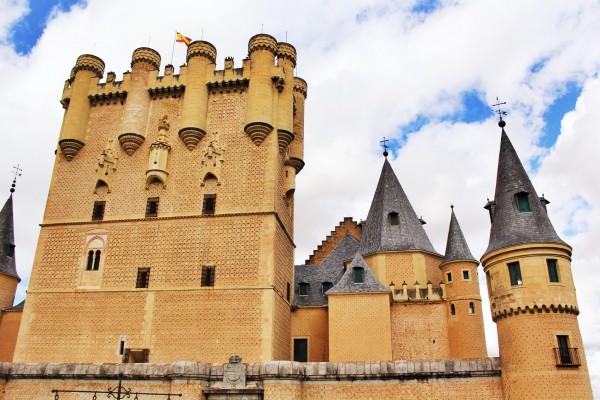 Castle, Segovia, Spain