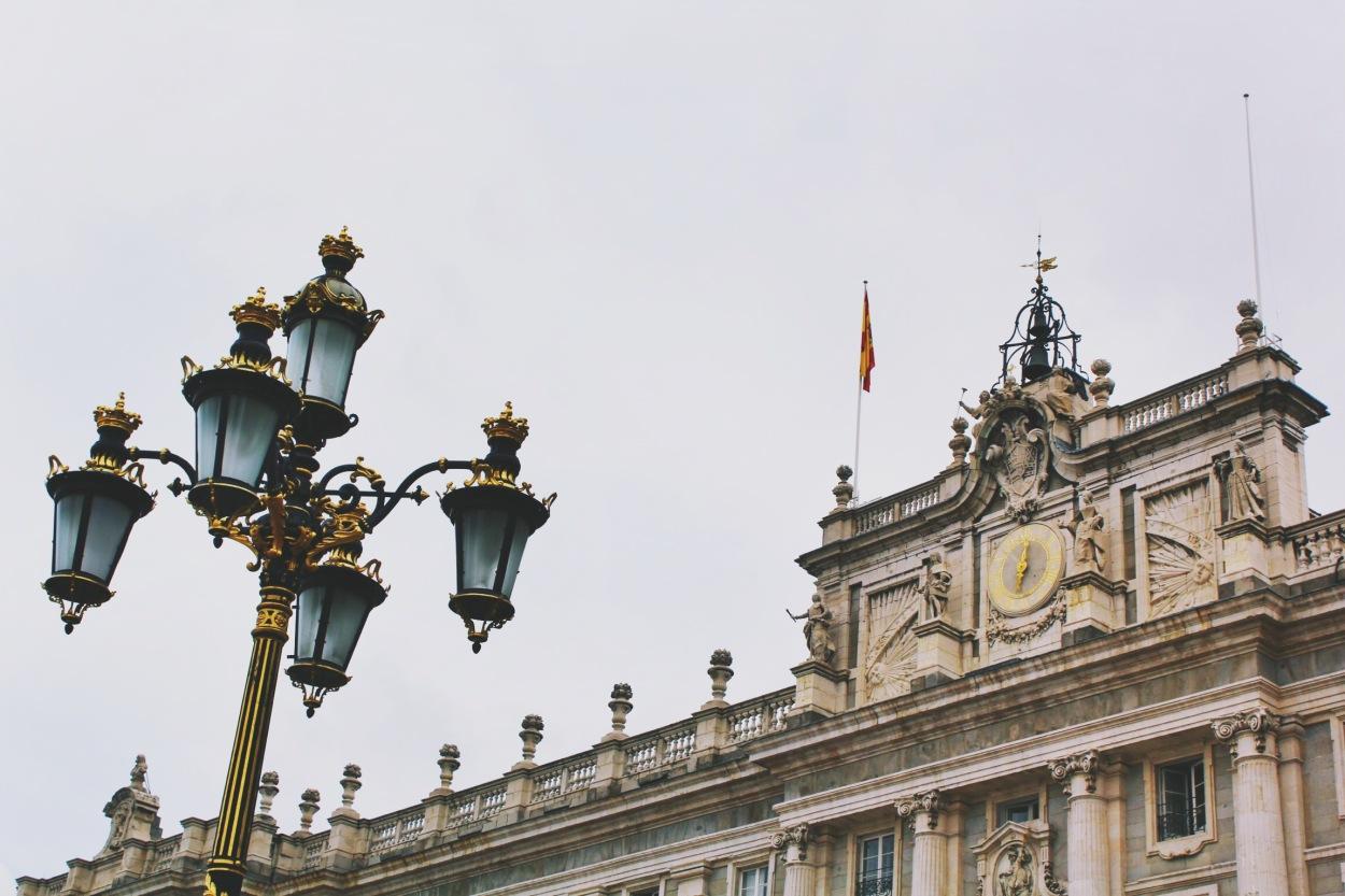 Cortyard, Madrid, Spain-Photo 1