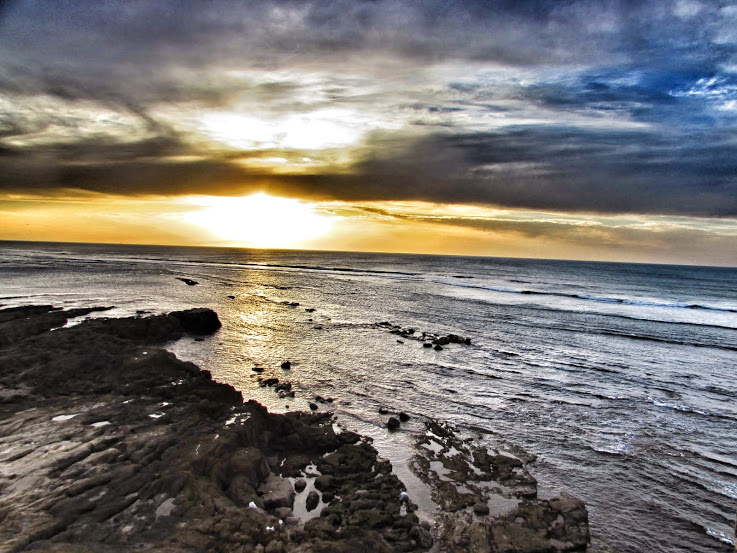 Sunset on the Coast, Asilah, Morocco, White-Photo 1
