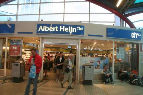 Albert Heijn (pronounced like Heinz Ketchup without the z), a local grocery favorite