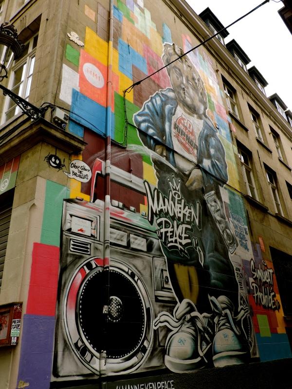 Manneken Peace, Brussels, Belgium, Westberg - Photo 1