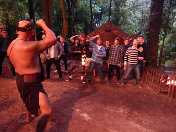 Learning the Haka with the ISA group