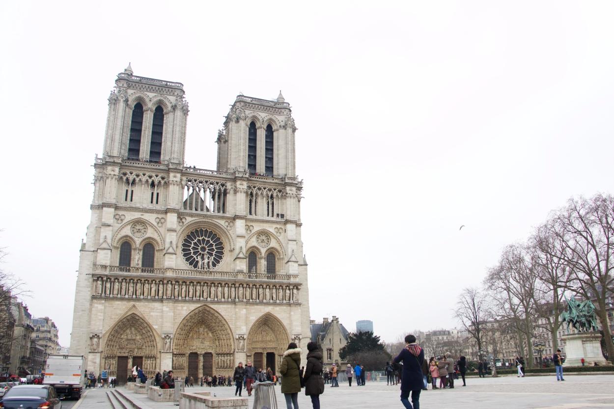 Notre Dame, Paris, France, Olson, 1