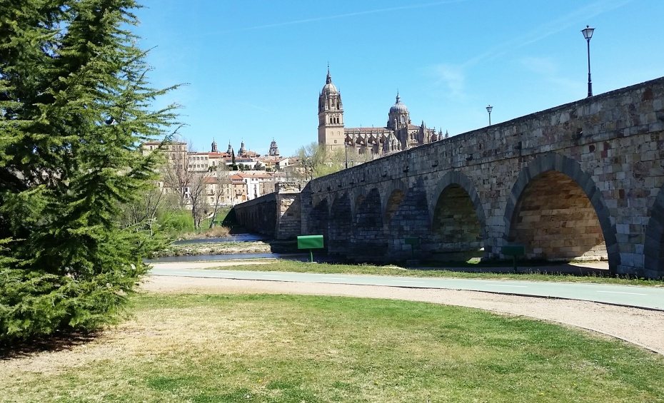 Running trail 1 - Salamanca, Spain - Dawson