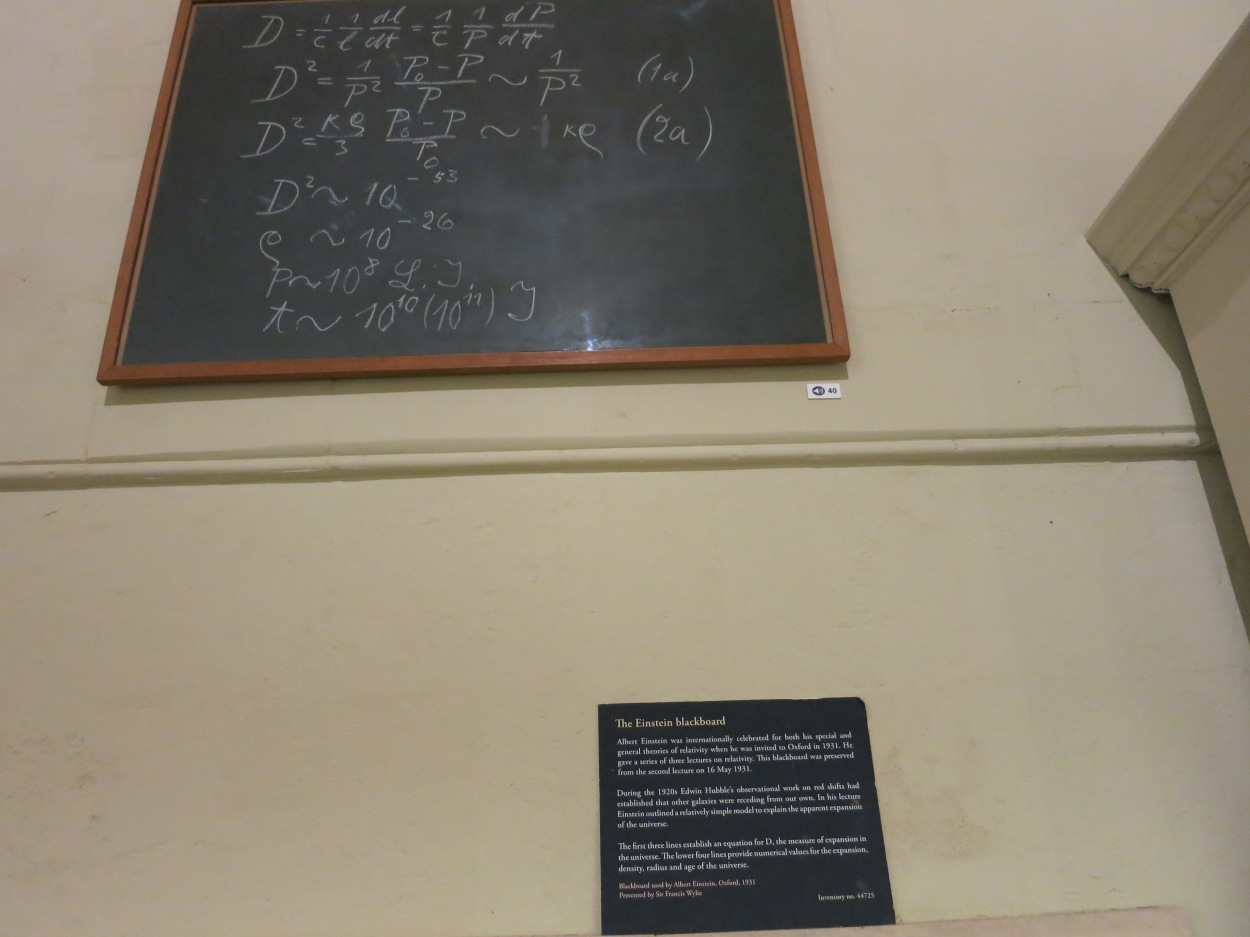 Einstein's Blackboard - Oxford, England - Strong - Photo 1
