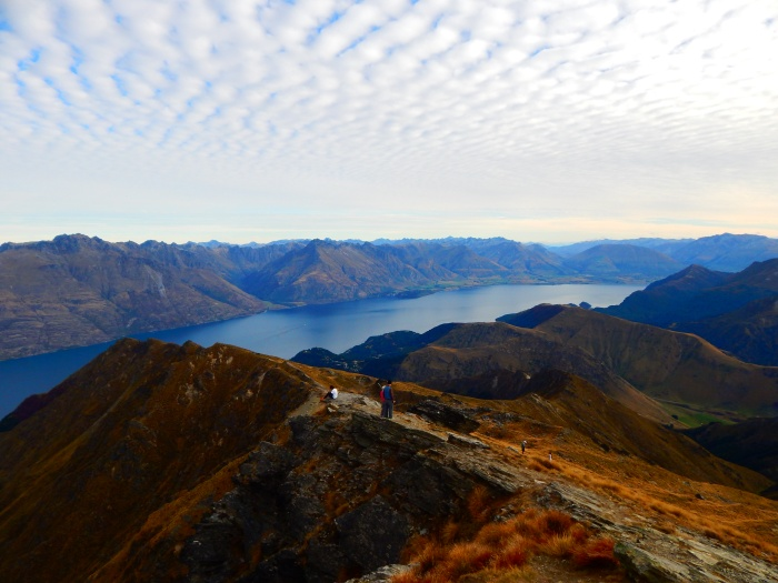 Ben Lomond Track – ends with a gorgeous Queenstown view