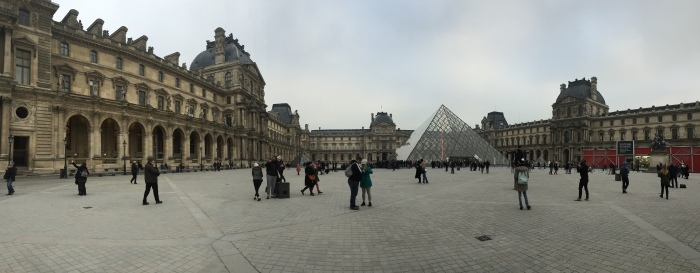 Having the Louvre so close by means I've visited it more times than any of the others combined!