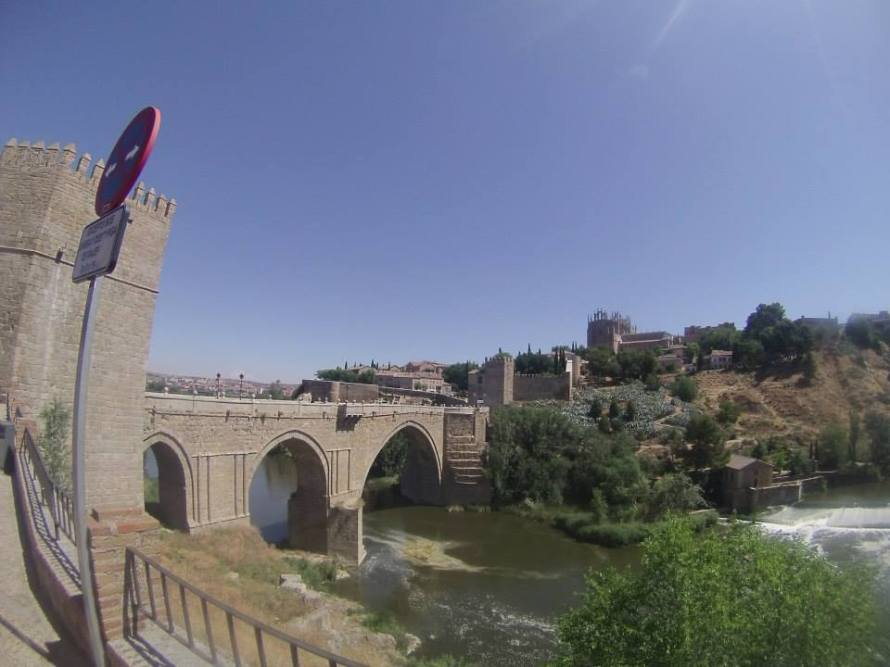 Puente de San Martin (San Martin Bridge), Toledo, Spain, Palmer, Photo 7