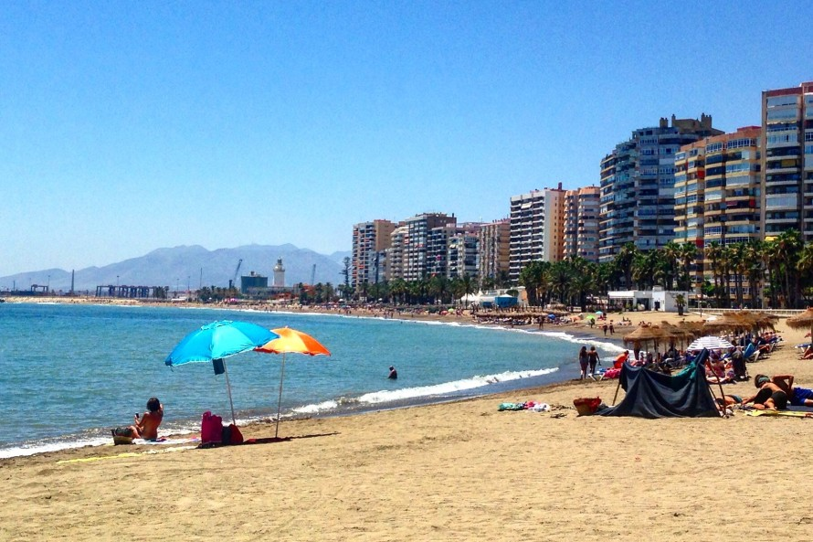 Beach, Malaga, Spain, Wollak - Photo 1
