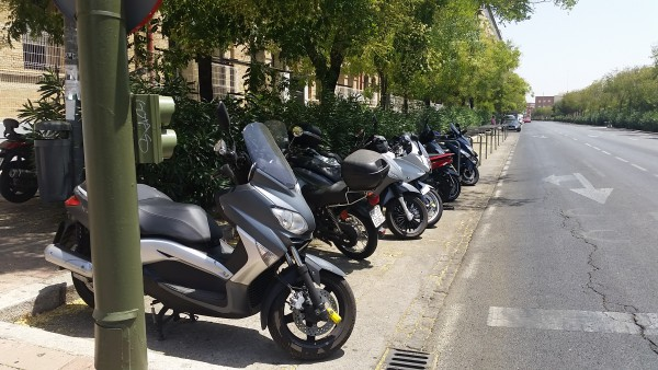 Motorcycle Parking, Seville, Spain, Sariol-Clough - Photo 4