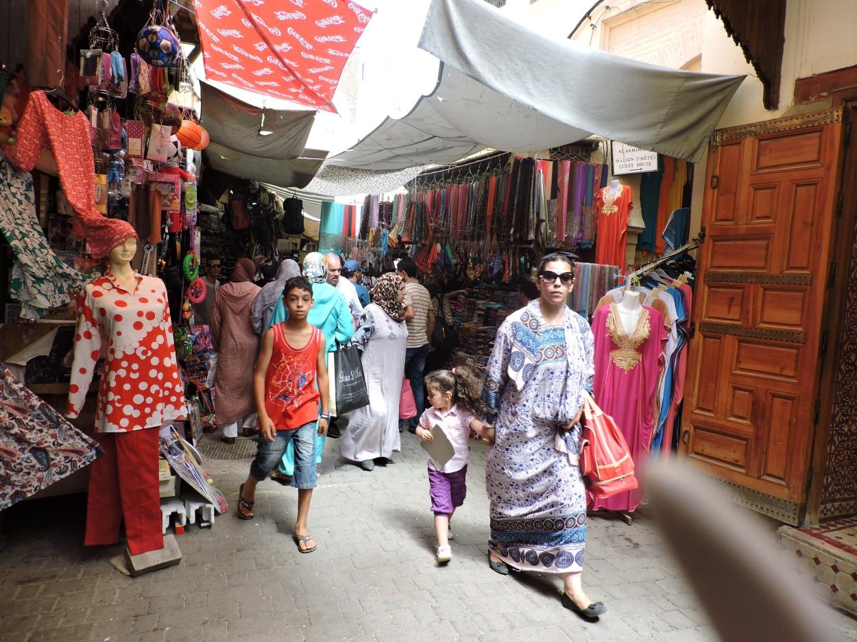 The Old Medina in Fes, Morocco