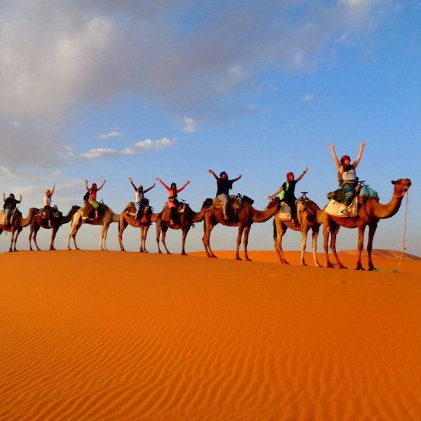 Riding Camels in the Sahara Desert, Merzouga, Morocco G+ç+¦ Ashour G+ç+¦ Photo 4