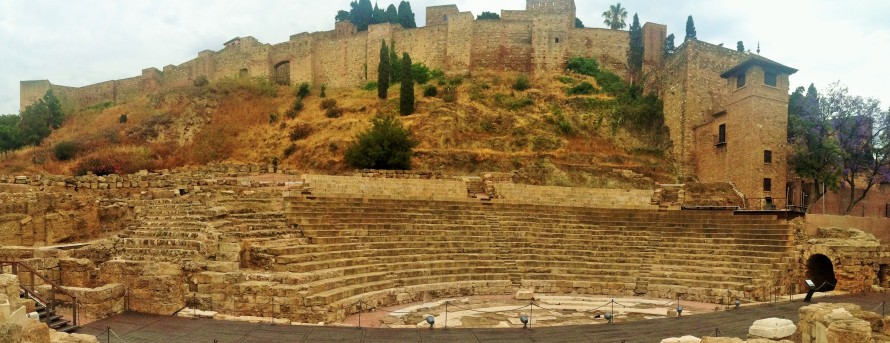 Roman Amphitheater, Malaga, Spain, Wollak - Photo 5