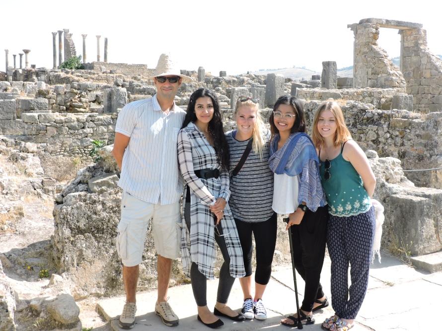 The Roman Ruins, Volubilis, Morocco