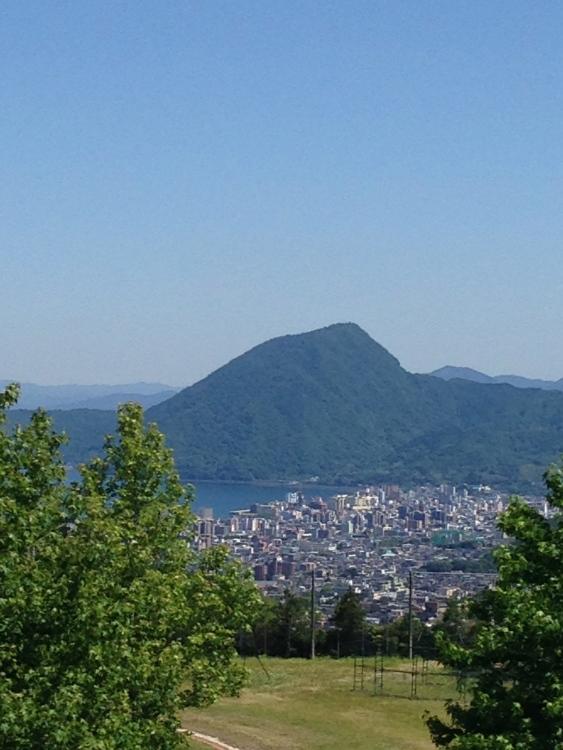 View of Beppu