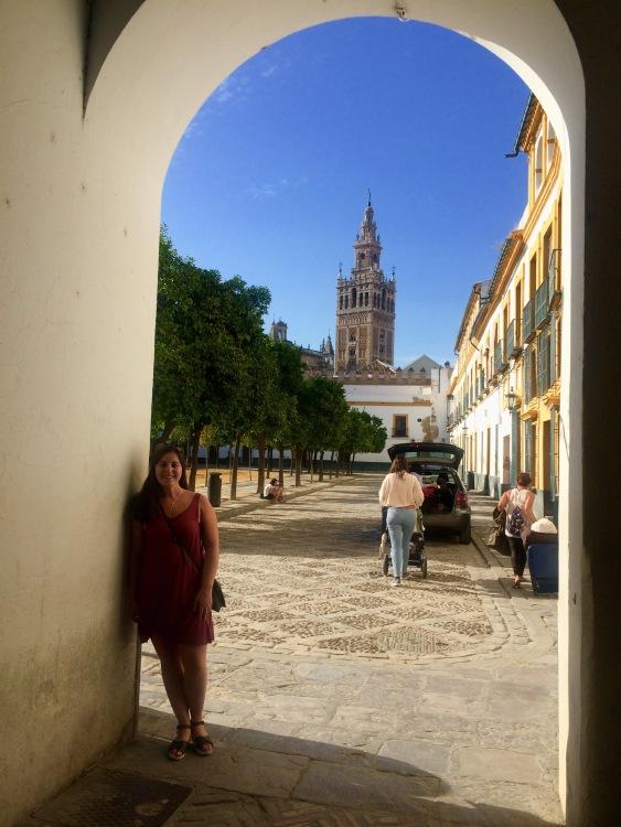 Archway behind Alcazar-Sevilla, Spain-Breece-Photo 3