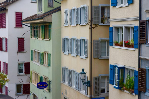 Colored Houses, Zurich, Switzerland - NELSON Photo 4