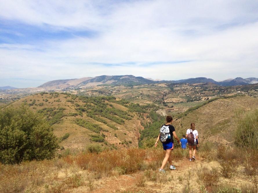PHOTO 3: Generalife - Exploring the seemingly endless views