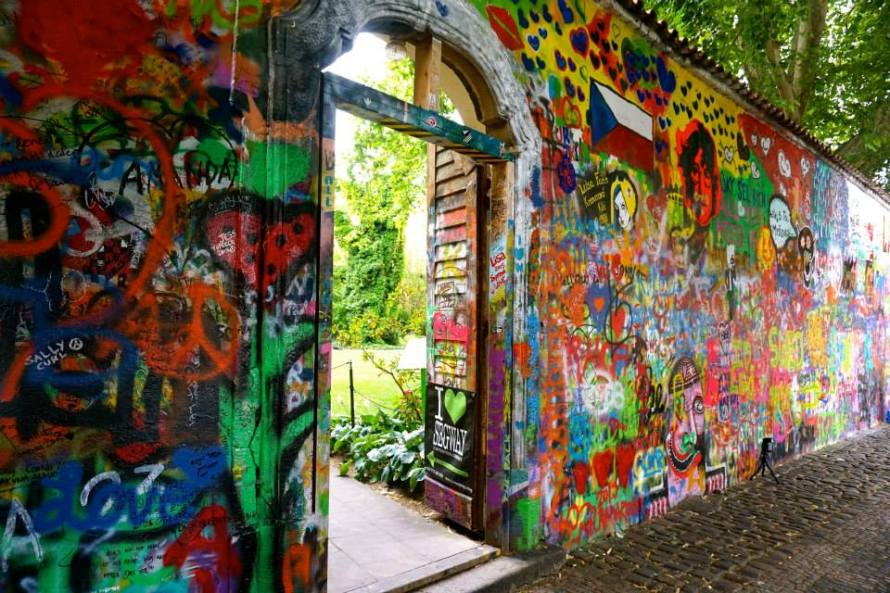 John Lennon Wall, Prague, Czech Republic-Bjornsen- Photo 3