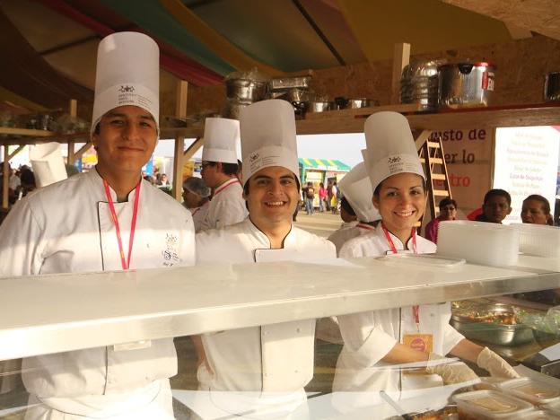 Chefs at Mistura, Lima, Peru