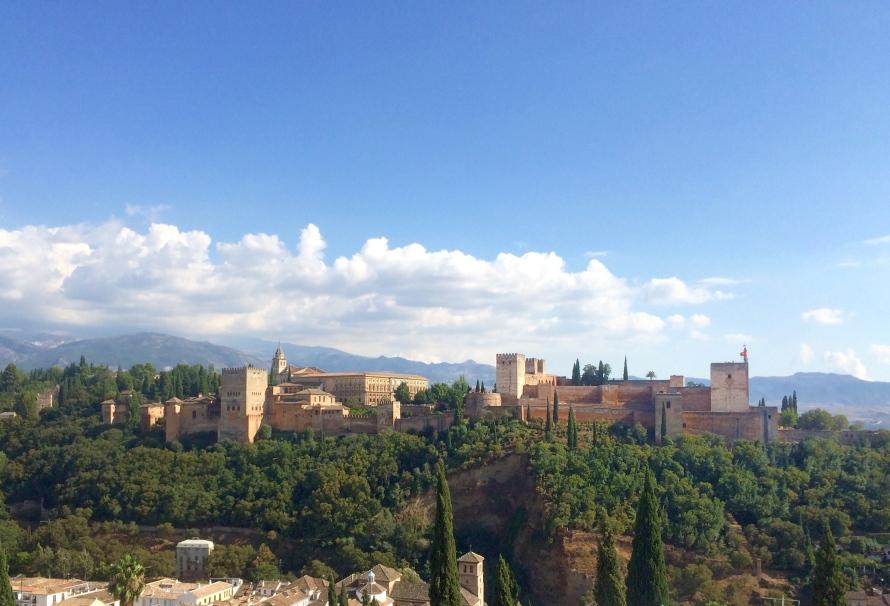 Mirador San Nicolas - One of Granada's favorite views.