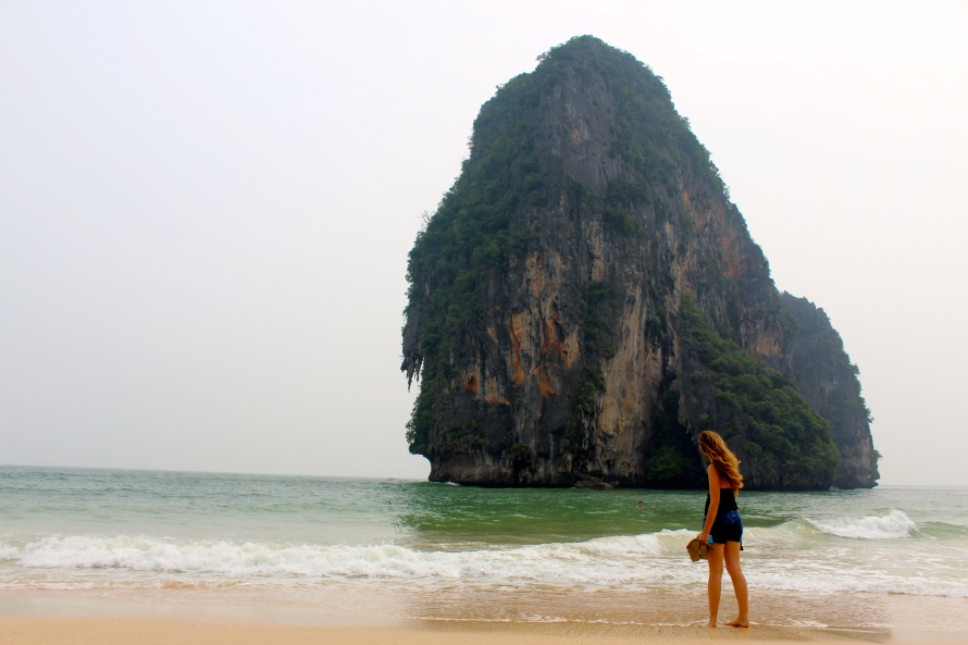 Railay Beach Cliff