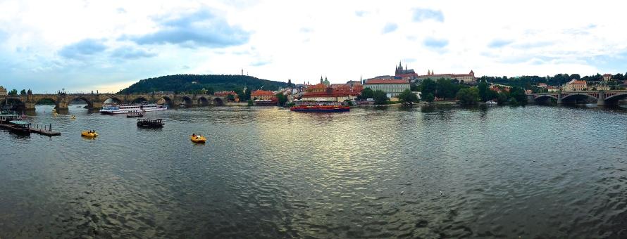 View of Charles Bridge, Prague, Czech Republic, Ketterling - photo 1