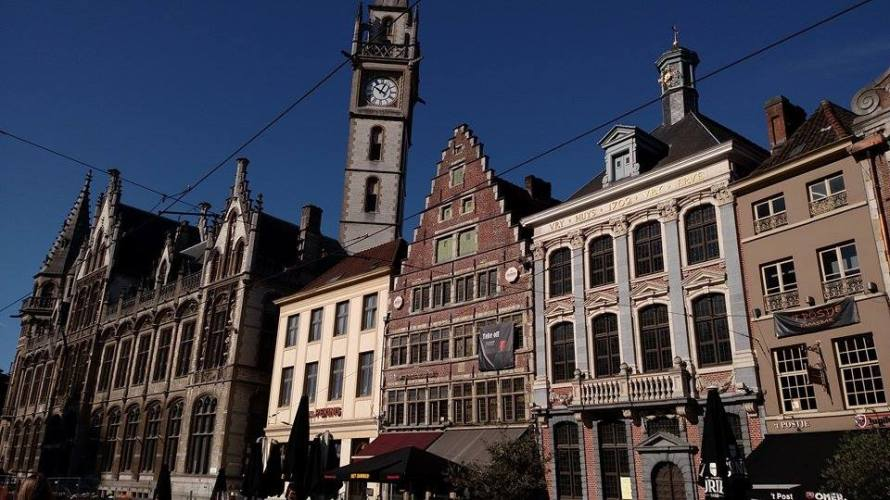 We toured the city of Ghent for an ISA excursion to learn all about its history.
