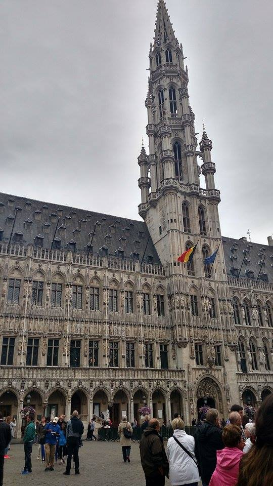 Brussels's Grand Place is a great example of the international presence of Belgium.