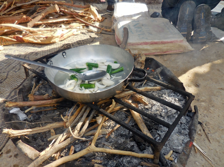 Another one of many traditional cooking methods found in Ghor Al Mazraa.