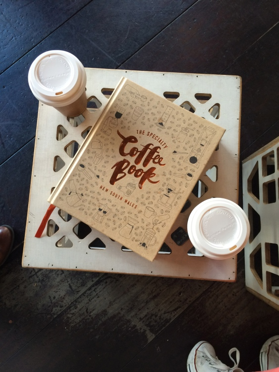 Coffee while reading the Coffee Book
