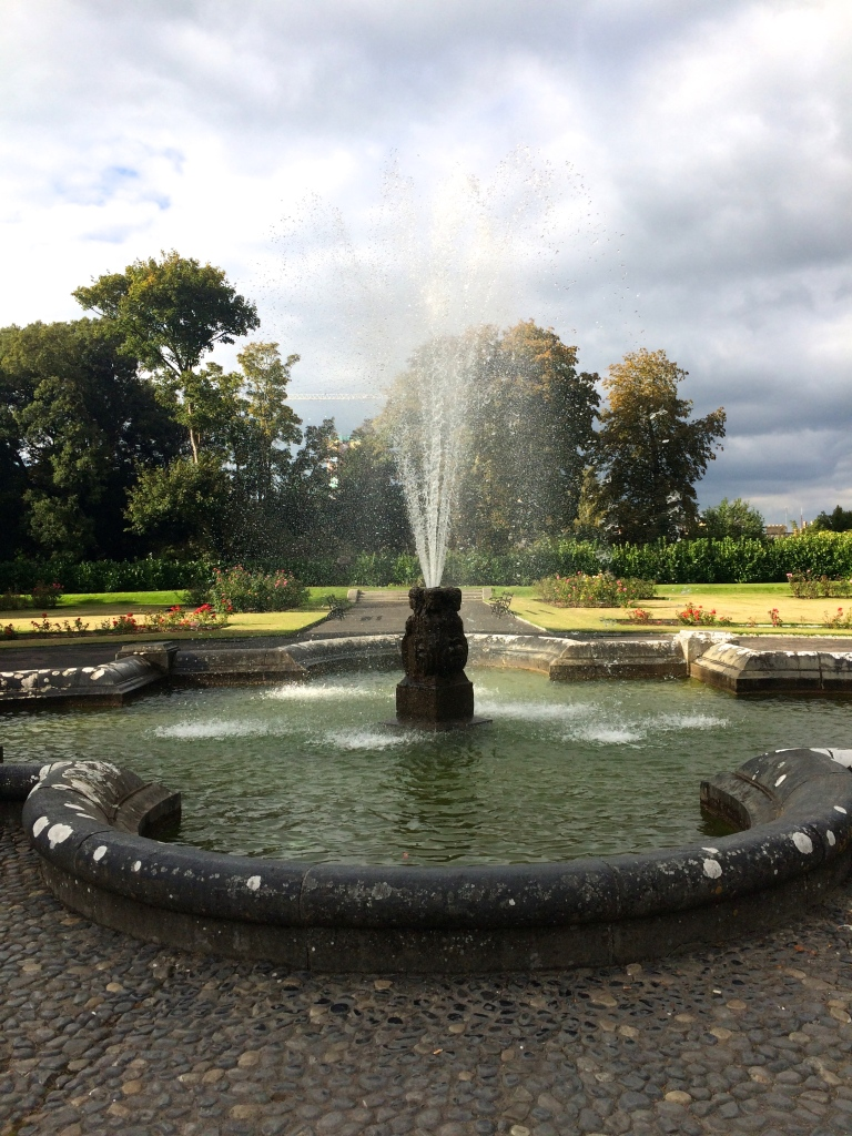 Rose Garden Fountain