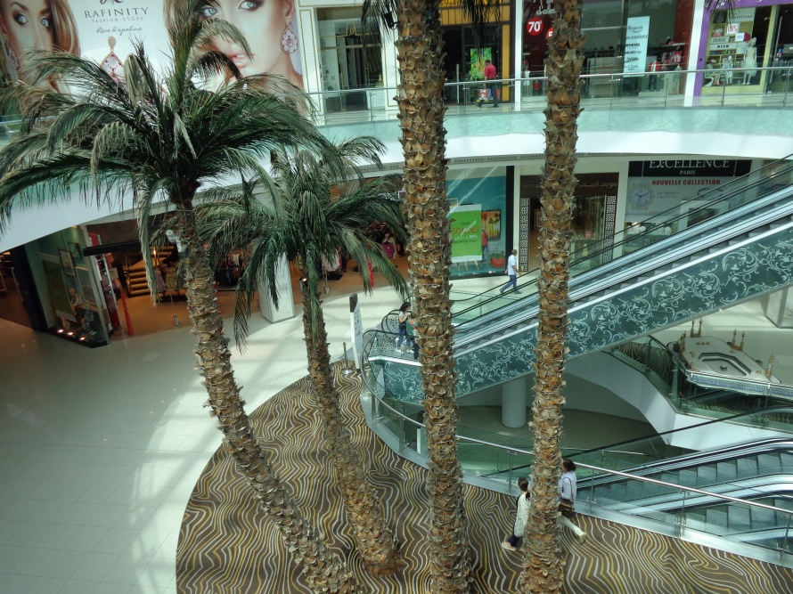 Moroccan Mall in Casablanca