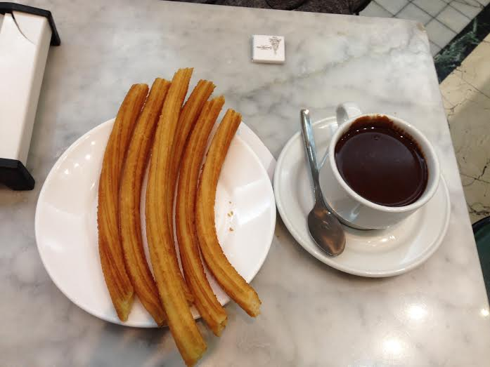 Along with all the benefits of studying abroad, churros con chocolate is the most delicious advantage.