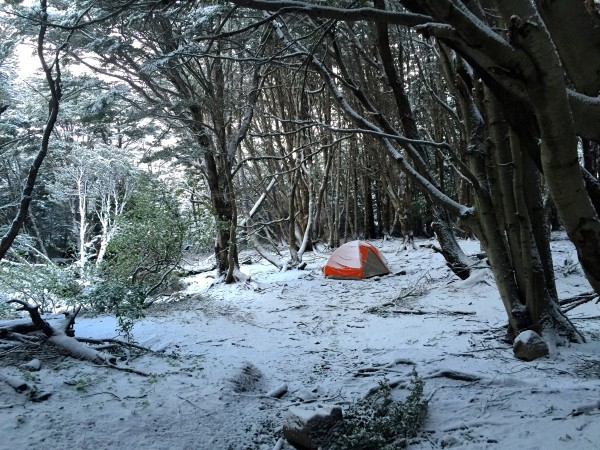 snowy campsite, patagonia, chile- McGowin- Photo 8