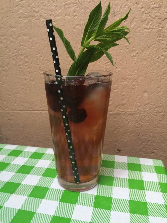 Iced tea at the Tea Cozy!