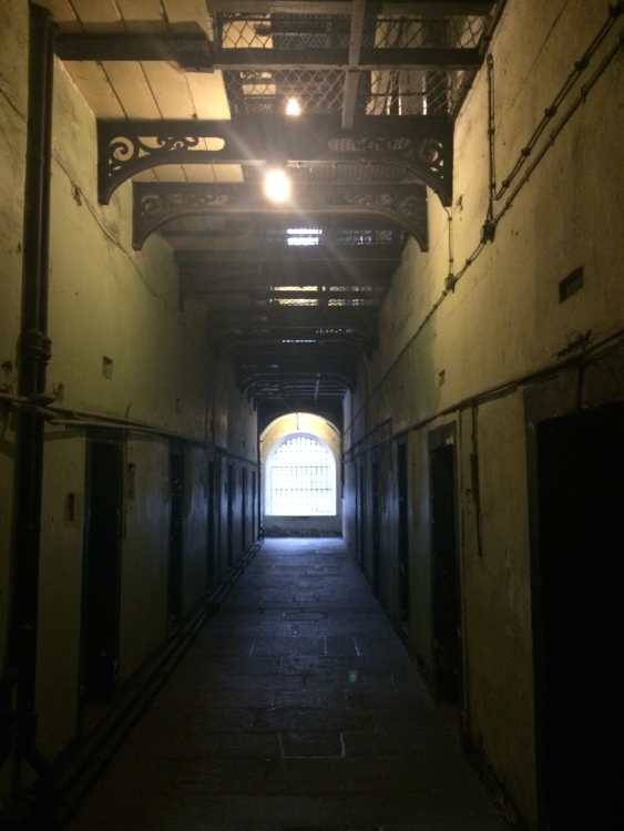 Cell hallway at Kilmainham