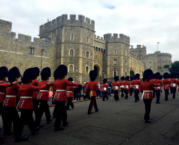 Changing of the Guards, Windsor, England, UK, Conwell-Photo 5