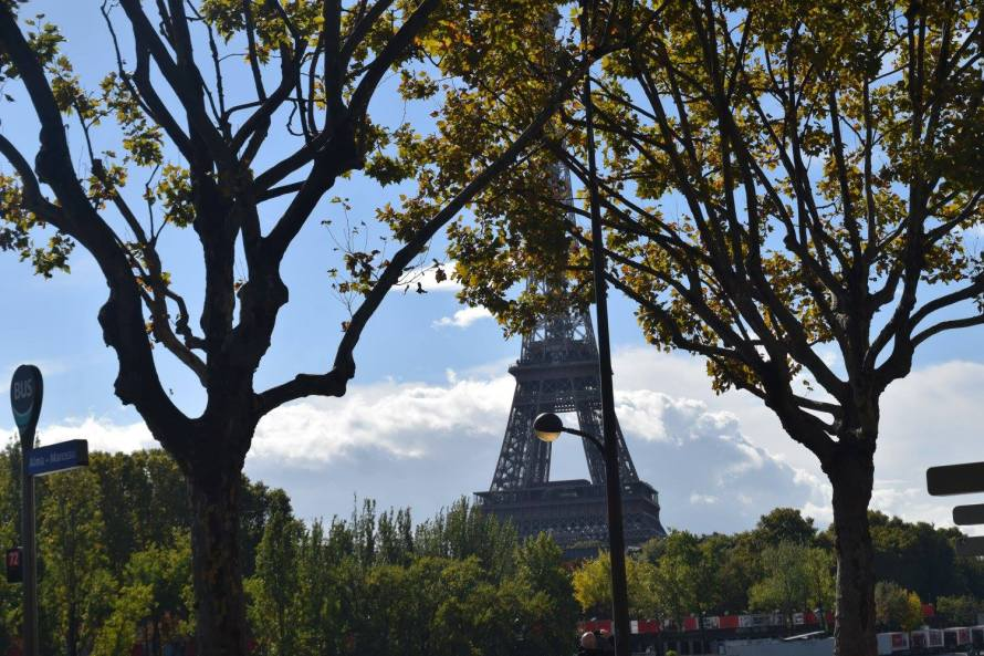 The Eiffel Tower: the most famous symbol of the city I've come to call home.