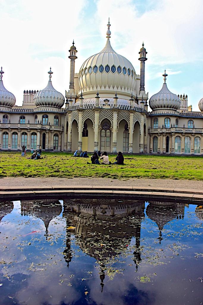 The Royal Pavilion in Brighton, England.