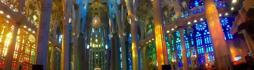 Sagrada Familia Colors- Barcelona, Spain- Breece- Photo 1