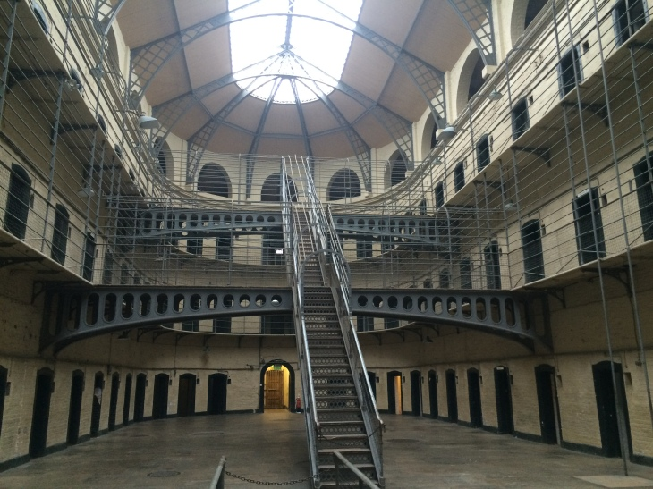 This particular wing of the gaol has been used in various films, such as The Italian Job (1969), Michael Collins (1996), and The Wind That Shakes The Barely (2006).