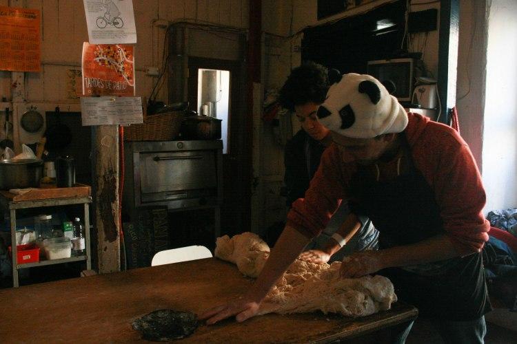 ISA Pay it Forward Program   Making Bread at Patio Volantin