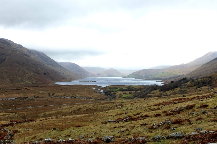 Breathtaking views of Connemara National Park