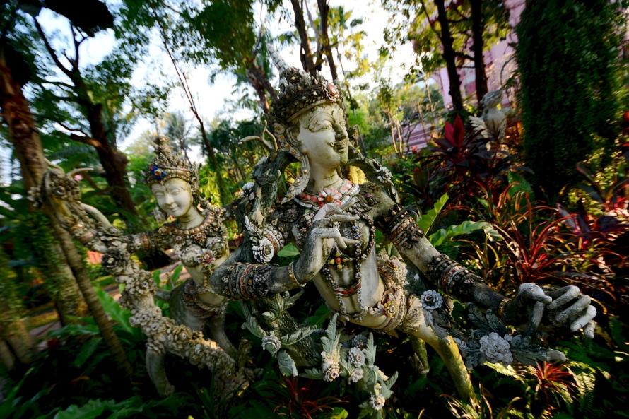Erawan Museum Garden, Bangkok, Thailand, Foggiato - Photo 5
